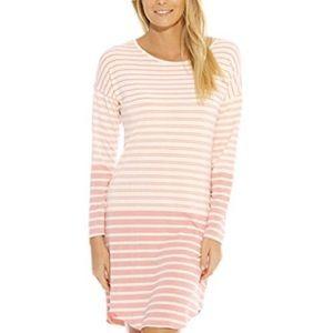 Christian Siriano New York Stripe Sleepwear Dress